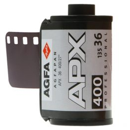 Agfa APX 400 iso 36 opnames