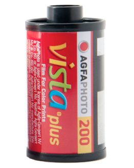 Agfa Vista 200 met 24 opnames