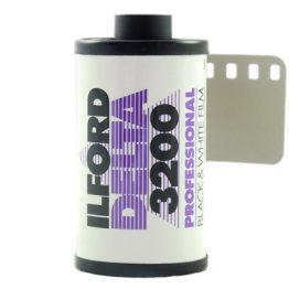 Ilford Delta 3200 36 opnames