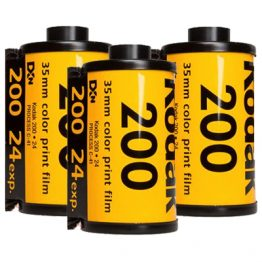 Kodak Gold 200 iso 24 opnames 3-pak