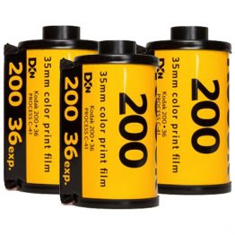 Kodak Gold 200 met 36 opnames 3-pak