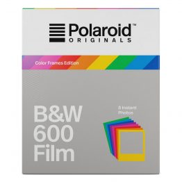 Polaroid Originals 600 zwart wit Film Color Frame Edition