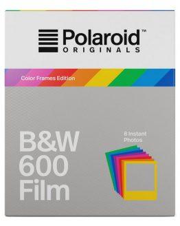 Polaroid Originals 600 zwart wit Film Color Frame Edition
