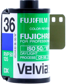 Fuji Professional Velvia 50 35mm