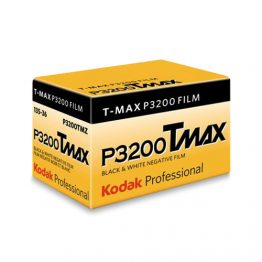Kodak t-max P3200 zwart/wit film