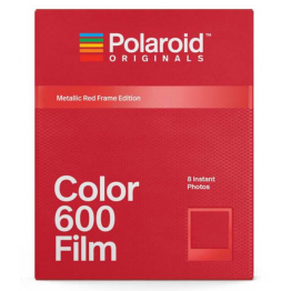 Polaroid Originals 600 Metallic Red Frame Edition