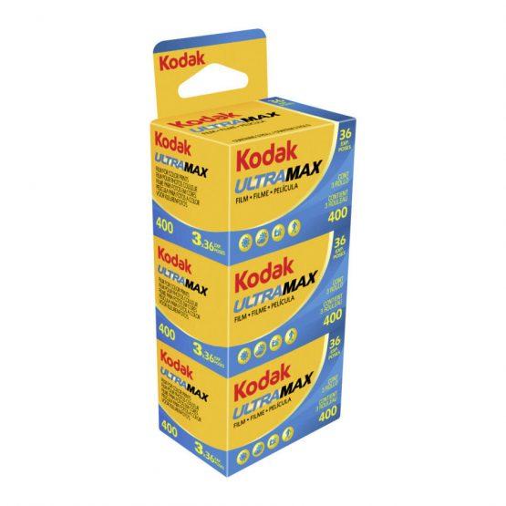 Kodak Ultra Max 400 met 36 opnames 3-pak