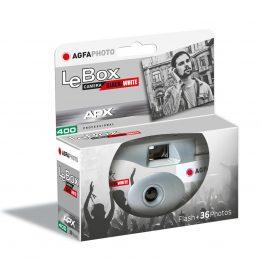AgfaPhoto Le Box Zwart Wit camera