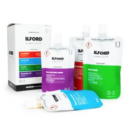Ilford Simplicity zwart/wit starter pack