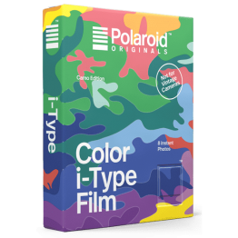 Polaroid Original Color i-Type Film Camo Edition