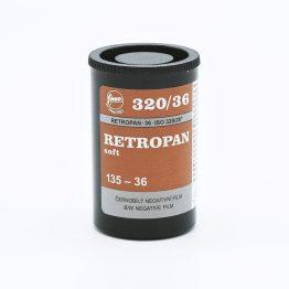 Fomapan Retropan 320 Soft 135-36