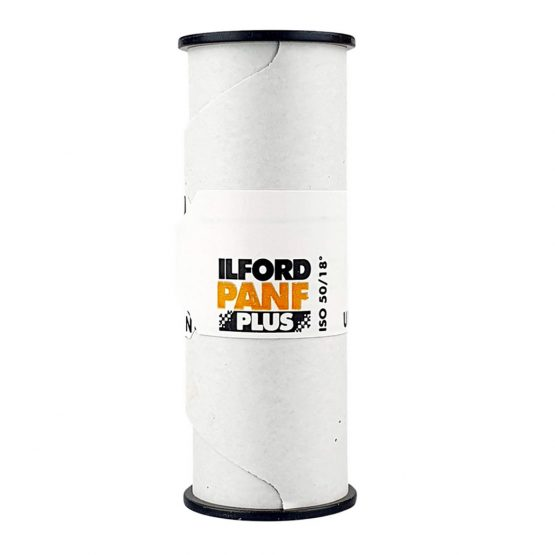 Ilford PAN F Plus 50 120 film