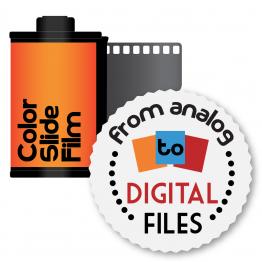 Ontwikkelen en digitaliseren van kleinbeeld dia film