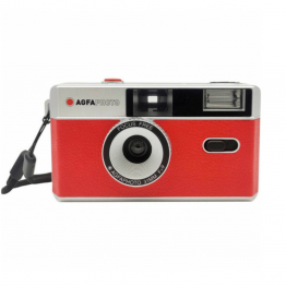 AgfaPhoto Reusable Photo Camera 35 mm rood