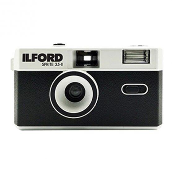 Ilford Sprite 35II Reusable camera zwart/zilver